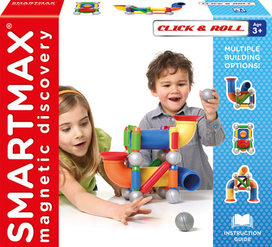 SmartMax Click and Roll Magnetic Playset