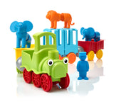 SmartMax My First Animal Train Magnetic Playset pieces