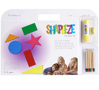 Shapeeze Activity Pad A4 3-6 years