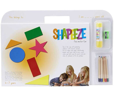 Shapeeze Activity pad 4-7 years