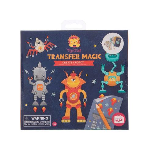Tiger Tribe Transfer MAgic Activity Set Robots