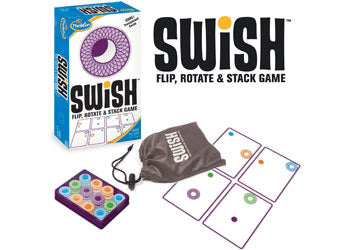 ThinkFun Swish Transparent Card Game