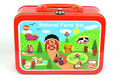 Farm Set in Tin