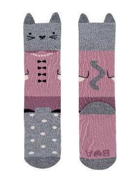 Billy Loves Audrey Well Dressed Cat Knee high socks