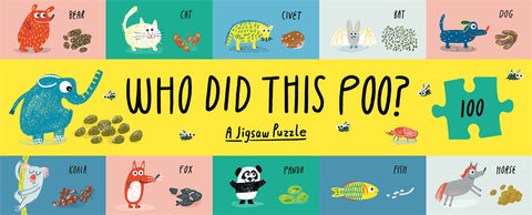 """Who Did This Poo?"" 100 piece puzzle"