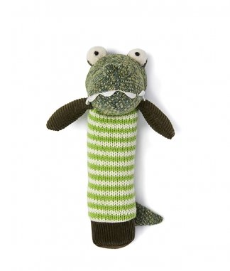 Nana Huchy Albert the Croc Hand Rattle