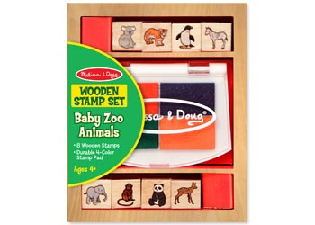 Melissa & Doug Baby Zoo Animals Stamps