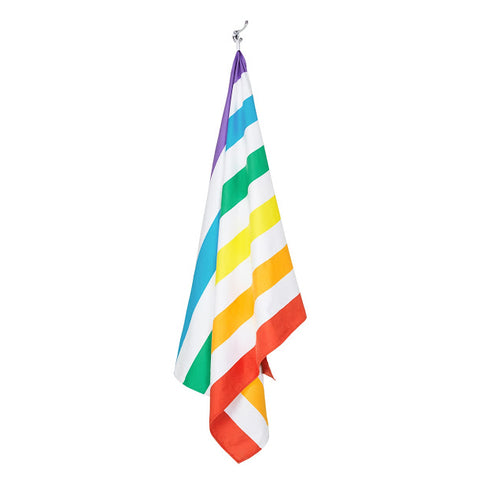 Dock & Bay rainbow towel