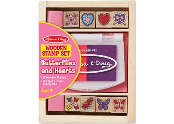 Melissa & Doug Butterfly & Hearts Stamps