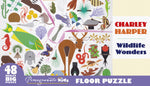 Charley Harper Wildlife Wonders 48 piece floor puzzle by Pomegranate.