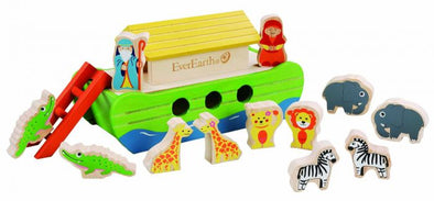 Everearth Wooden Noah's Ark
