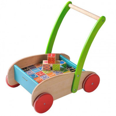 Everearth wooden block walker