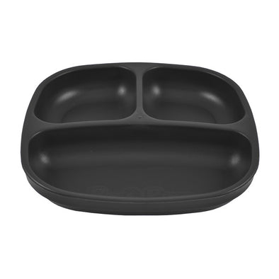 Re-Play Divided Plate Black