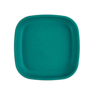 Re-play flat plate teal