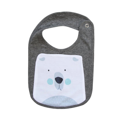 Mister Fly Polar Bear Bib