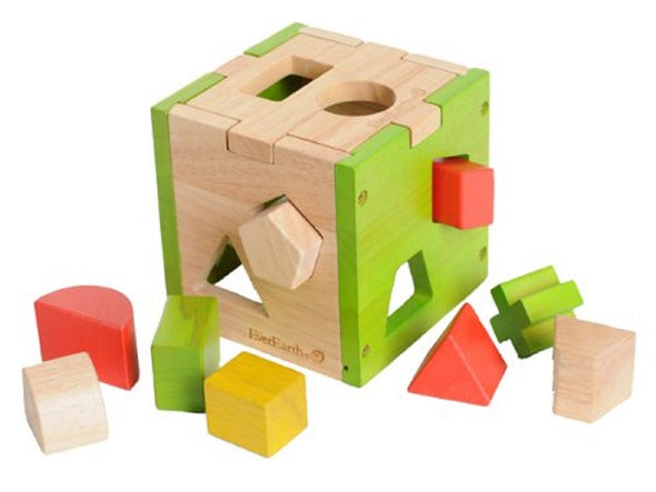 Everearth Shape Sorting Cube