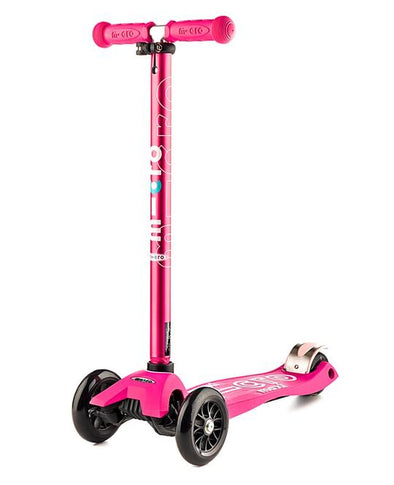 Maxi Micro Deluxe Pink Scooter suitable for 5-12 years