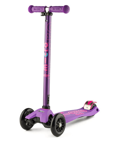 Maxi micro deluxe purple scooter suitable for 5 to 12 years