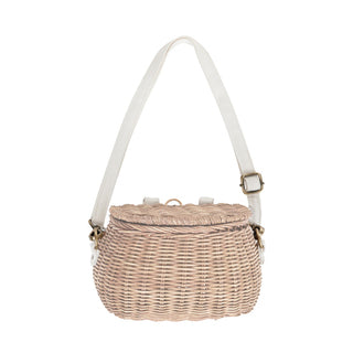 Olli Ella Mini Chari Basket Straw