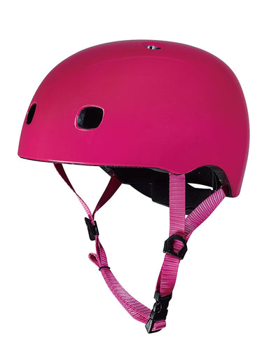 Micro Helmet Raspberry Pink with LED