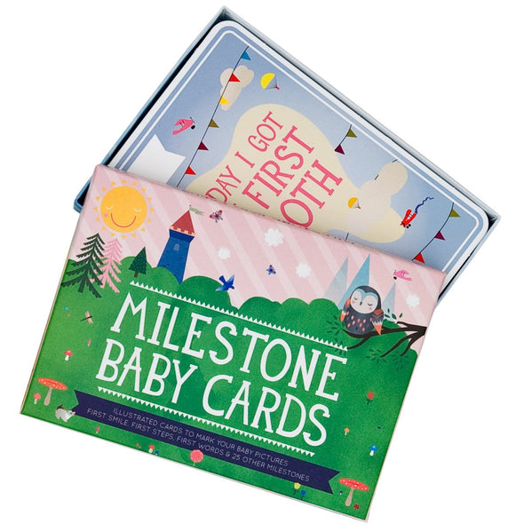 The original Milestone baby cards