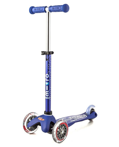 Mini Micro deluxe scooter blue