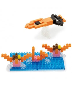 Nanoblock Swimming