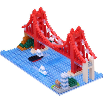 Nanoblock Golden Gate Bridge Challenger Series