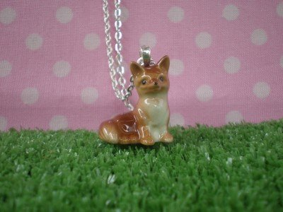 Meow Girl Fox Cub Necklace