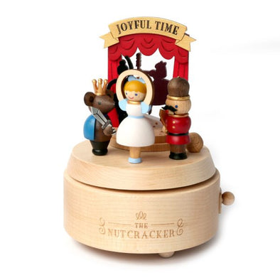 Wooderful Life Nutcracker Wooden Music Box