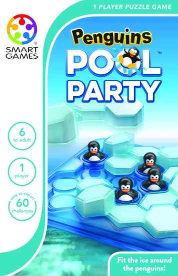 SmartGames Penguin Pool Party