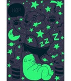 Glow in the Dark Poster Bear