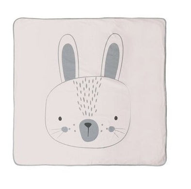 "Mister Fly Pink Bunny ""Everything"" Blanket"