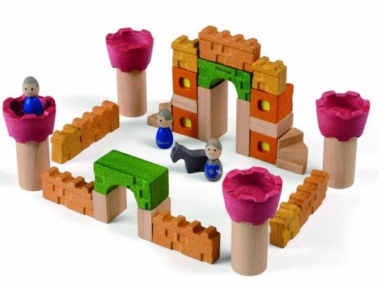 PlanToys Castle Blocks