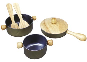 PlanToys Cooking Utensils Set