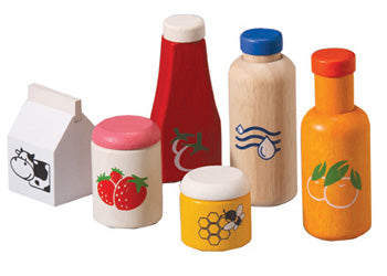 PlanToys Food & Beverage Set
