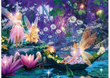 Ravensburger 500 piece Fairy and Butterfly puzzle with stick on gems