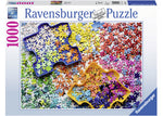 Ravensburger The Puzzler's Palette 1000 piece puzzle