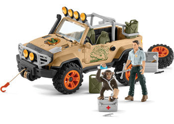 Schleich 4x4 vehicle with winch 42410