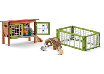 Schleich 42420 Rabbit hutch