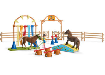 Schleich Pony Ability Training