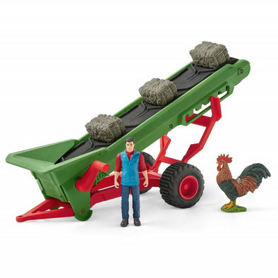 Schleich Hay Conveyor with Farmer