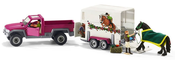 Schleich Pick-up with Horse Box