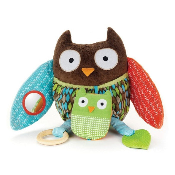 Skip Hop Hug & Hide Activity Toy Owl