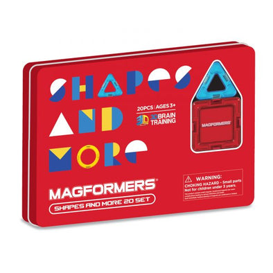 Magformers Shapes & More 20 set