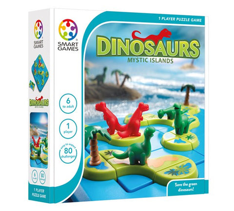 SmartGames Dinosaurs Mystic Islands
