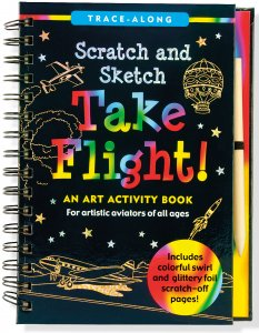 Scratch & Sketch Take Flight