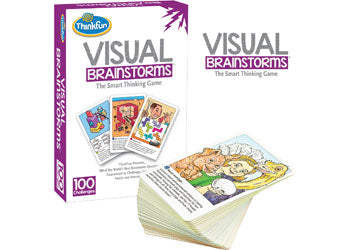 ThinkFun Visual Brainstorms Smart thinking Game for 8 years plus
