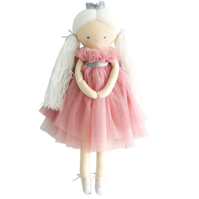 Alimrose Penelope Princess doll Sparkle Blush tulle