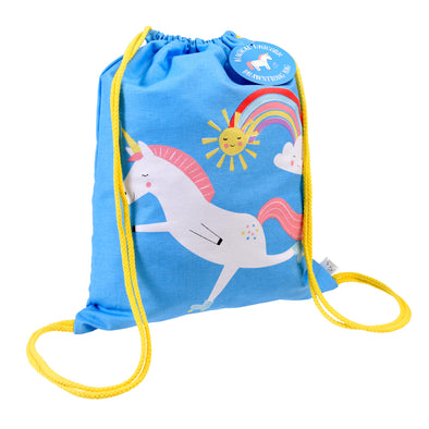Rex Unicorn Drawstring bag